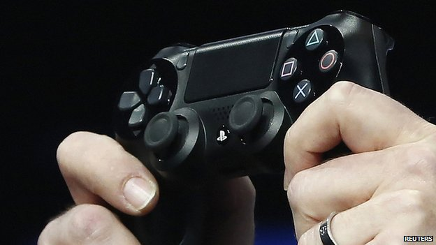 Sony revealed what the controller would look like for the Playstation 4.
