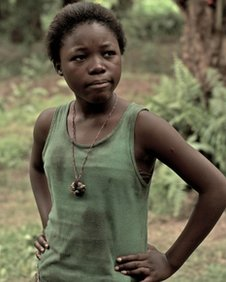 Rachel Mwanza, star of the Oscar-nominated War Witch