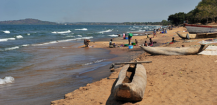 Lake Malawi shore
