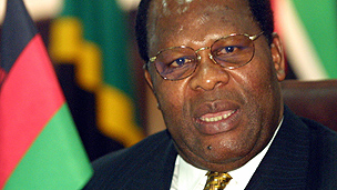 Former Malawian president Bakili Muluzi