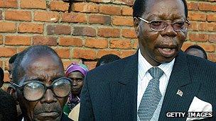 Former Malawian leader Bingu wa Mutharika