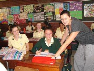 Danville Park Girls' High School Afrikaans lesson