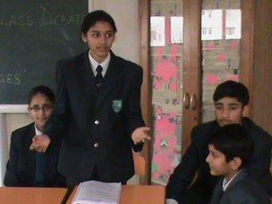Millennium School in Mohali, India