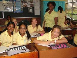 Danville Park Girls' High School's isiZulu lesson!