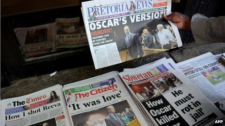 Copies of newspapers (20 February 2013}