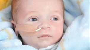 Baby Ollie Lewis