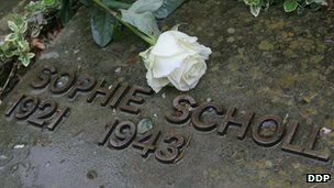 Sophie Scholl&#039;s grave