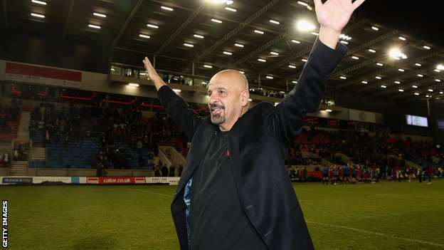 Salford City Reds owner Dr Marwan Koukash