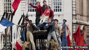Les Miserables film cast