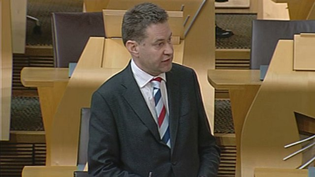 Economy, Energy and Tourism Committee convener Murdo Fraser