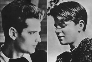 Hans and Sophie Scholl, members of the White Rose resistance group