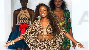 Lilly Alfonso, Africa Fashion Week, London