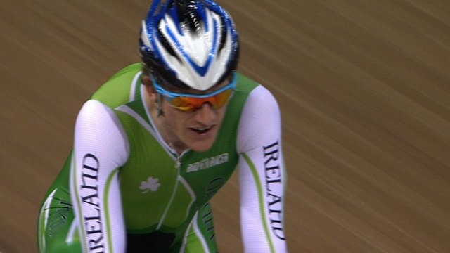 World Track Championship scratch race champion Martyn Irvine