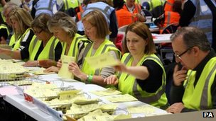 Ballots being counted in Avon and Somerset