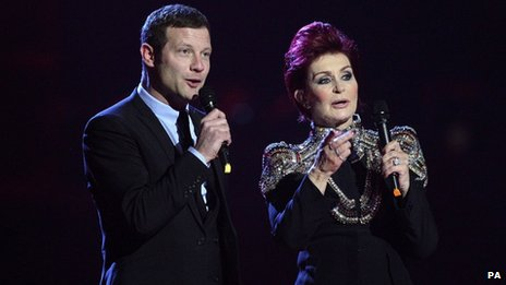 Dermot O'Leary and Sharon Osbourne