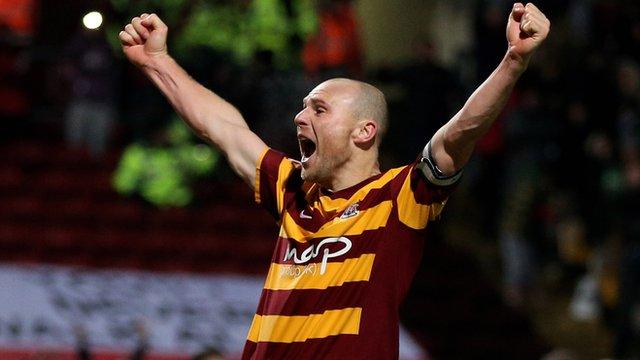 Bradford City's Gary Jones