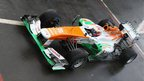 The new Force India VJM06