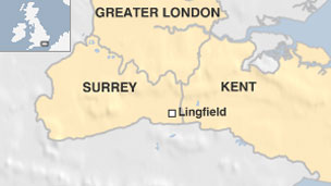 Map of Lingfield