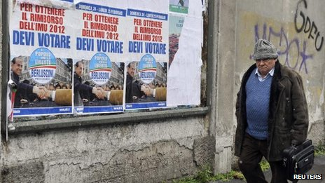 Silvio Berlusconi posters