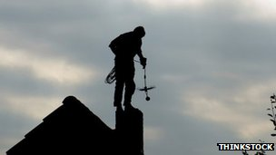Chimney sweep. Pic: Thinkstock