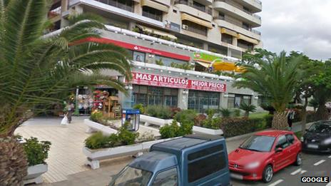 Supermarket in Los Cristianos