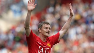 Ole Gunnar Solksjaer with United