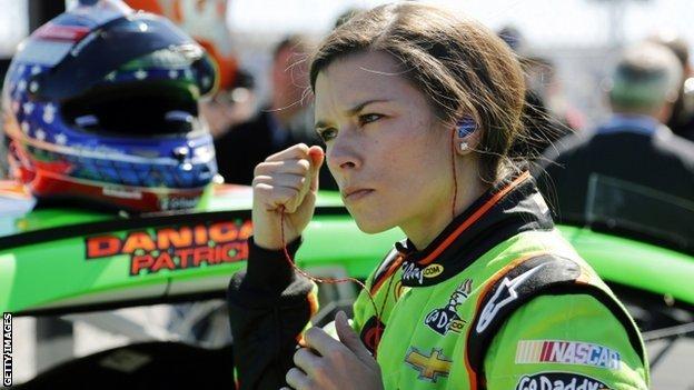 Nascar racer Danica Patrick