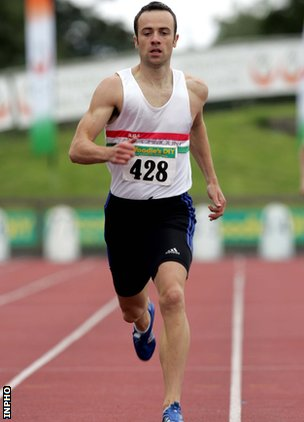 World Indoor 400m bronze medallist Paul McKee
