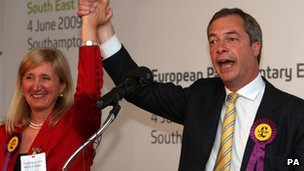 UKIP MEP defects to Conservatives