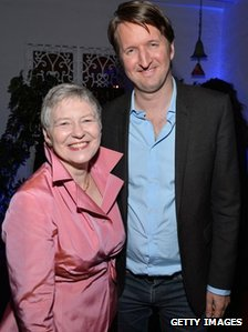 British Consul General Dame Barbara Hay and Tom Hooper