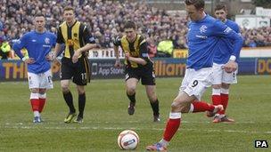Rangers v Berwick