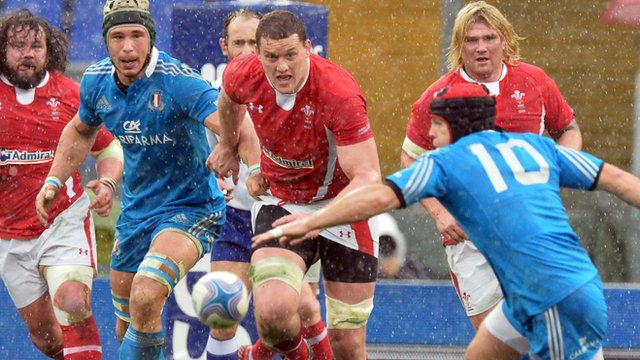 Italy 9-26 Wales