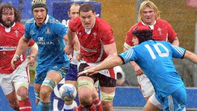 Italy 9-26 Wales