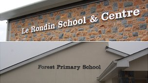 Le Rondin School and Centre and Forest Primary School