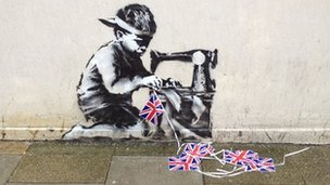 Banksy mural 