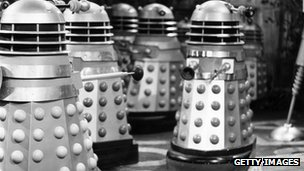 Daleks from Dr Who