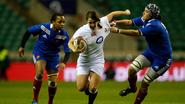 Highlights: England women lose to France