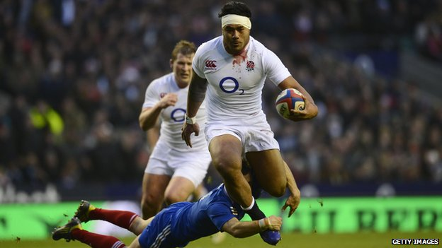 Manu Tuilagi sealed the win, which means England could still win the Grand Slam