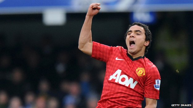 A brilliant goal from Brazilian defender Rafael helped United extend their league lead to 15 points.