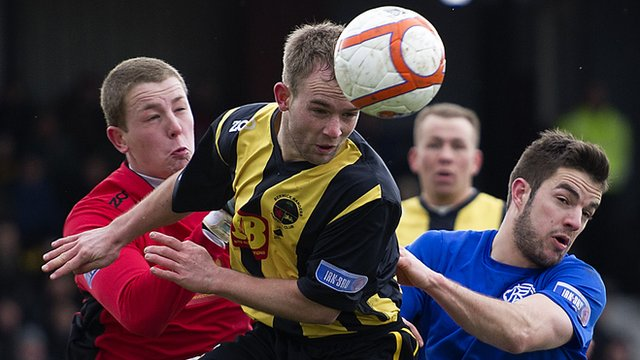 Highlights - Berwick Rangers 1- 3 Rangers