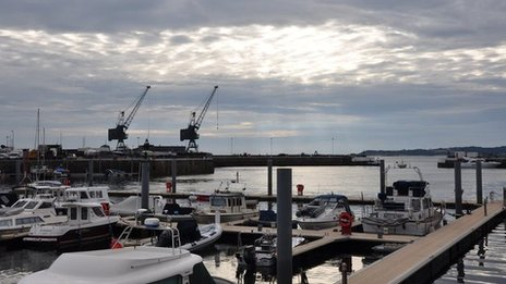 St Sampson's harbour, Guernsey