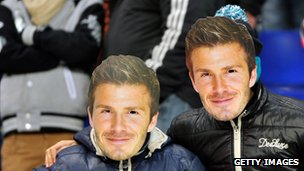 David Beckham masks