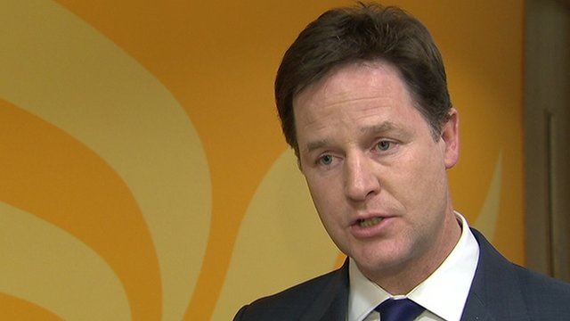 Clegg denies Lord Rennard cover up
