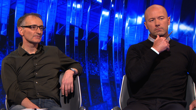 Pat Nevin and Alan Shearer