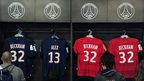 The 'David Beckham merchandising machine' in evidence at Paris St-Germain's club shop