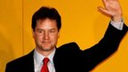 Nick Clegg becomes Lib Dem leader