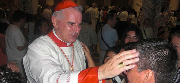 Cardinal Keith O'Brien in El Savador