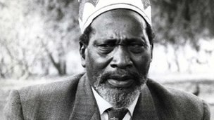 Jomo Kenyatta interviewed by the BBC in 1961