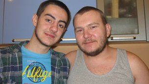 Dima and Yaroslav 
