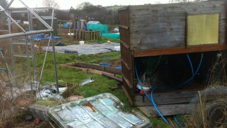 Audley allotment